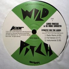 "Lord Finesse & DJ Mike Smooth - Strictly For The Ladies / Back To Back Rhyming, 12"", Reissue"