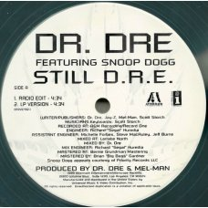 "Dr. Dre Featuring Snoop Dogg - Still D.R.E., 12"""