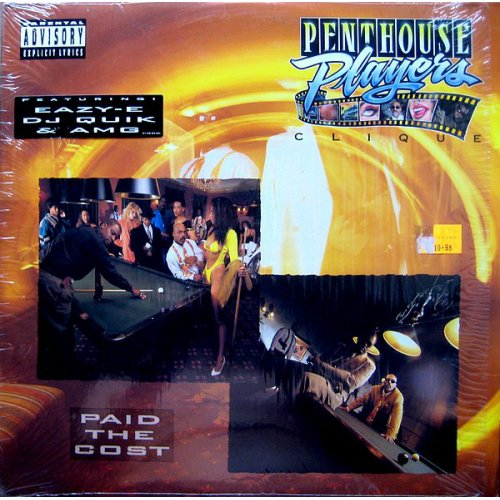 Penthouse Players Clique - Paid The Cost, LP