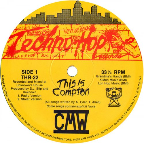"""CMW - This Is Compton, 12"""""""