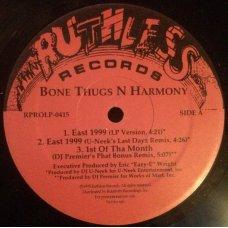 "Bone Thugs-N-Harmony - East 1999, 12"", Promo"