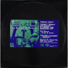 E-40 - The Element Of Surprise, 3xLP