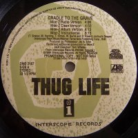 """Thug Life - Cradle To The Grave, 12"""", Promo"""
