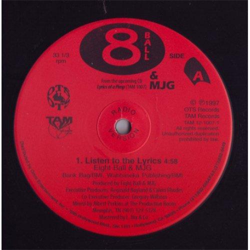 "Eight Ball & MJG - Listen To The Lyrics / Got 2 Be Real, 12"", Repress"