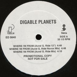 """Digable Planets - Where I'm From, 12"""", Promo"""