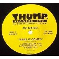 "MC Magic / Kozme - Here It Comes / Psycho, 12"""