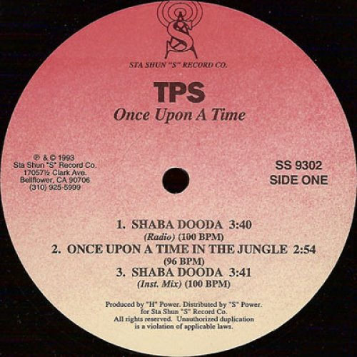 """TPS - Once Upon A Time, 12"""""""
