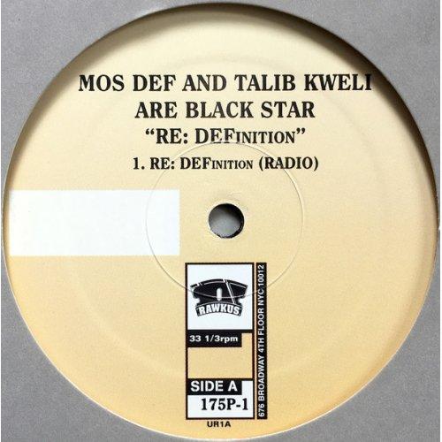 "Black Star - RE: DEFinition, 12"", Promo"
