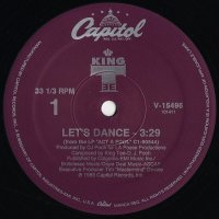 """King Tee - Let's Dance / The Coolest, 12"""""""
