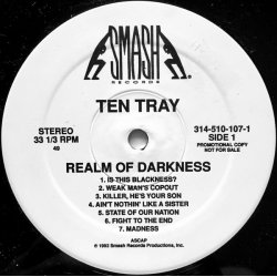 Ten Tray - Realm Of Darkness, LP, Promo