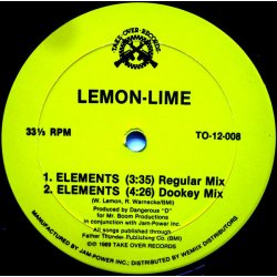 "Lemon-Lime - Elements, 12"""
