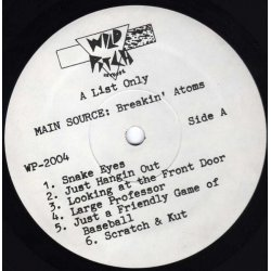 Main Source - Breaking Atoms, LP, Promo