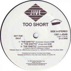 "Too Short - The Ghetto, 12"", Promo"