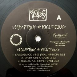"""Comptons Righteous - Comptons Righteous, 12"""", EP"""