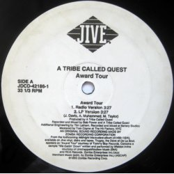 """A Tribe Called Quest - Award Tour, 12"""", Promo"""