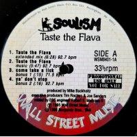 "Soulism - Taste The Flava, 12"", Promo"