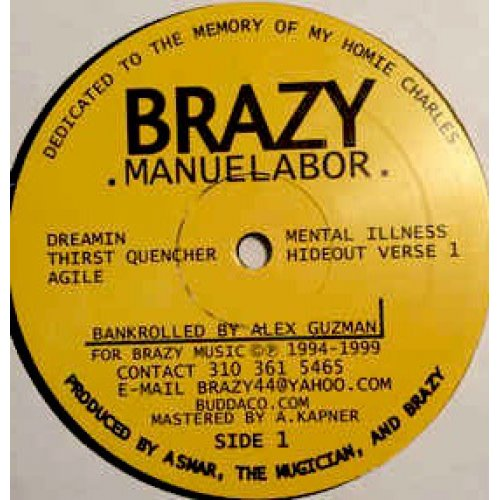 Brazy - Manuelabor, LP