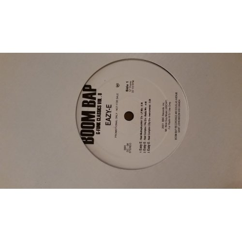 "Eazy-E / Above The Law - G-Funk Classics Vol. 8, 12"", Promo"