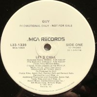 """Guy - Let's Chill, 12"""", Promo"""