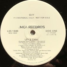 "Guy - Let's Chill, 12"", Promo"