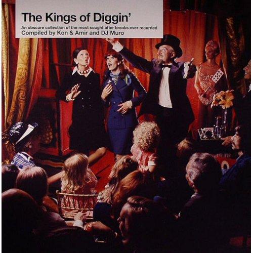 Kon & Amir & DJ Muro - The Kings Of Diggin', 2xLP