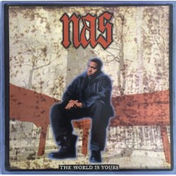 Nas - The World Is Yours, 12""