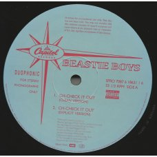 """Beastie Boys - Ch-Check It Out, 12"""", Promo"""