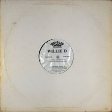 """Willie D. - Clean Up Man, 12"""", Promo"""
