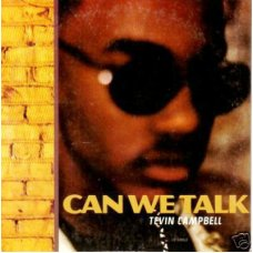 """Tevin Campbell - Can We Talk, 12"""", Promo"""