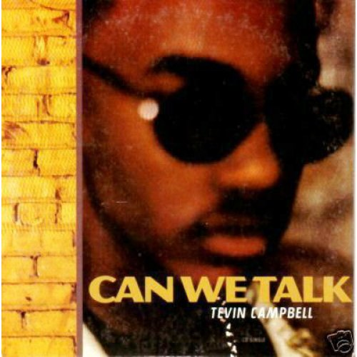 "Tevin Campbell - Can We Talk, 12"", Promo"