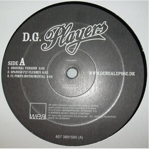 Den Gale Pose - D.G. Players, 12""