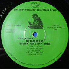 B-Legit - Tryin' To Get A Buck, LP