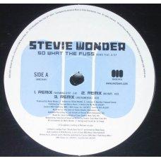"""Stevie Wonder Feat. Q-Tip - So What The Fuss, 12"""""""