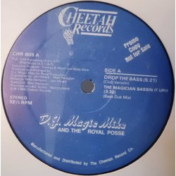 "DJ Magic Mike And The Royal Posse - Drop The Bass, 12"", Promo"