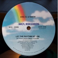 Eric B. & Rakim - Let The Rhythm Hit 'Em, 12""