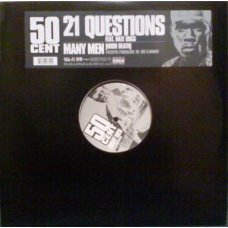 50 Cent - 21 Questions / Many Men [Wish Death], 12""