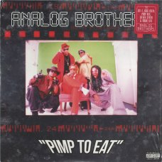 Analog Brothers - Pimp To Eat, 2xLP, Reissue
