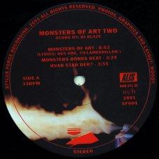 """DJ Blaze - Monsters Of Art Two, 12"""""""