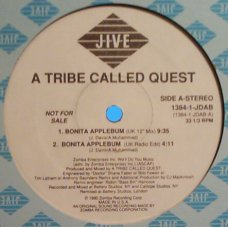 "A Tribe Called Quest - Bonita Applebum, 12"", Promo"