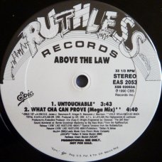 "Above The Law - Untouchable, 12"", Promo"