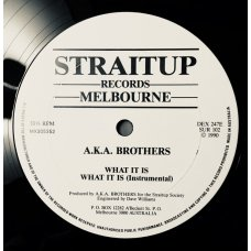 AKA Brothers - What It Is, 12""