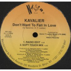 """Kavalier - Don't Want To Fall In Love, 12"""""""