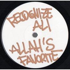 Recognize Ali X DJ TMB - Allah's Favorite, LP, Test Pressing