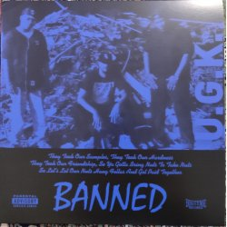 "UGK – Banned, 12"", EP, Reissue"