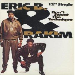 "Eric B. & Rakim - Don't Sweat The Technique, 12"""
