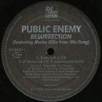 "Public Enemy - Resurrection / He Got Game, 12"""