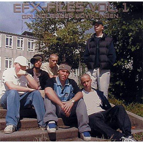 Various - EFX-Files Vol. 1, Grundlægger Udviklingen, LP