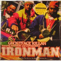 Ghostface Killah - Ironman, 2xLP, Reissue, Remastered