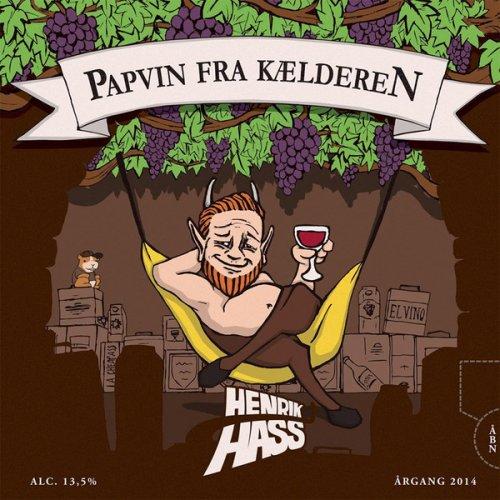 Henrik Hass - Papvin Fra Kælderen, LP