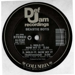 "Beastie Boys - Hold It, Now Hit It, 12"""